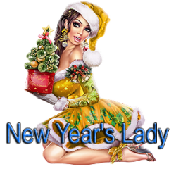 New Year's Lady