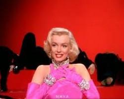 """Marilyn Monroe in """"Gentlemen Prefer Blondes"""" - """"Diamonds Are A Girls Best Friend"""""""